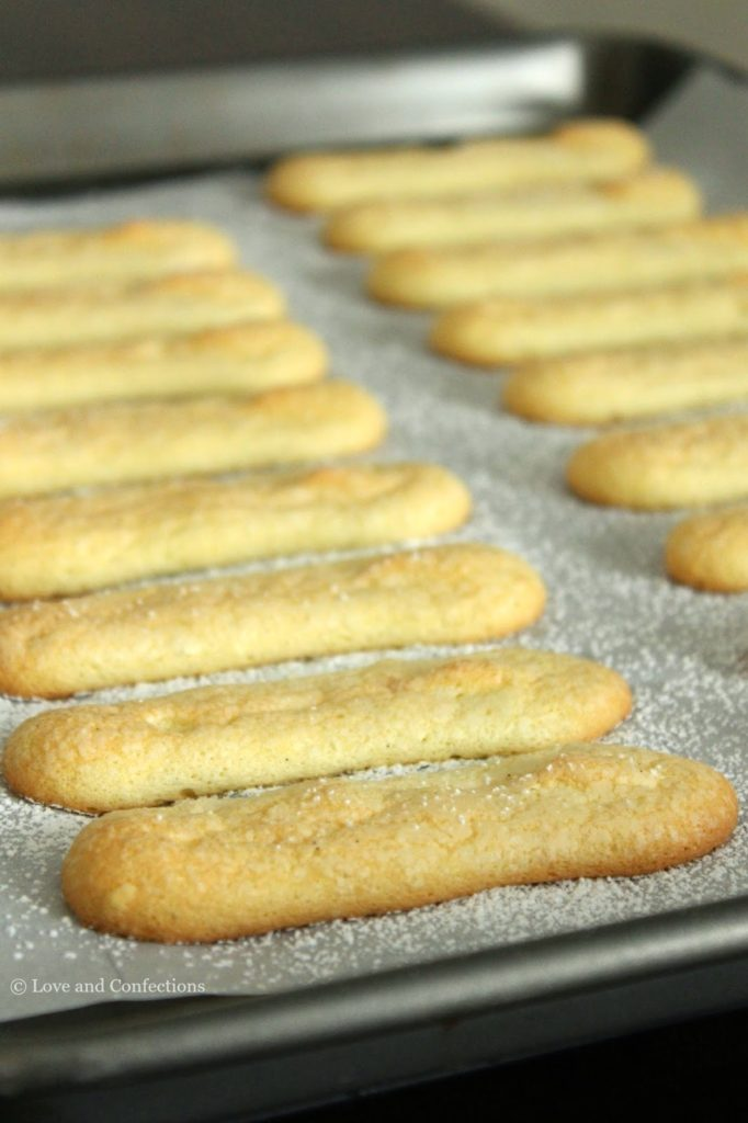 Vanilla Bean Ladyfingers from LoveandConfections.com