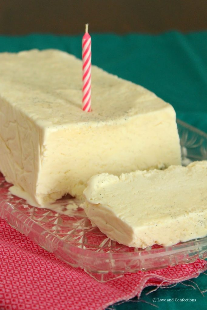 #VanillaWeek Vanilla Bean Semifreddo from LoveandConfections.com