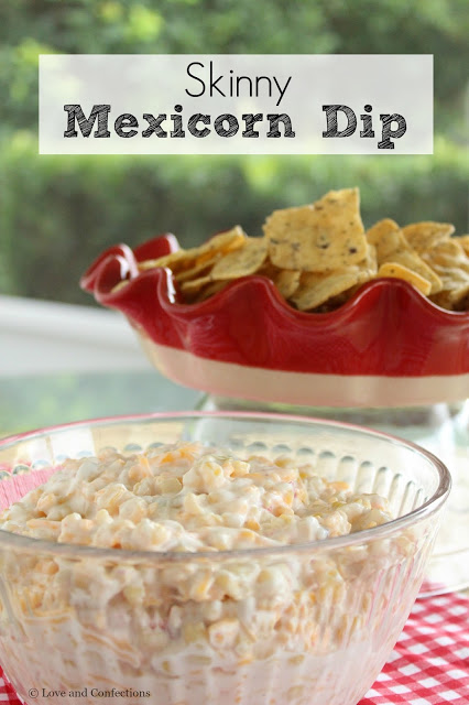 Skinny Mexicorn Dip from LoveandConfections.com