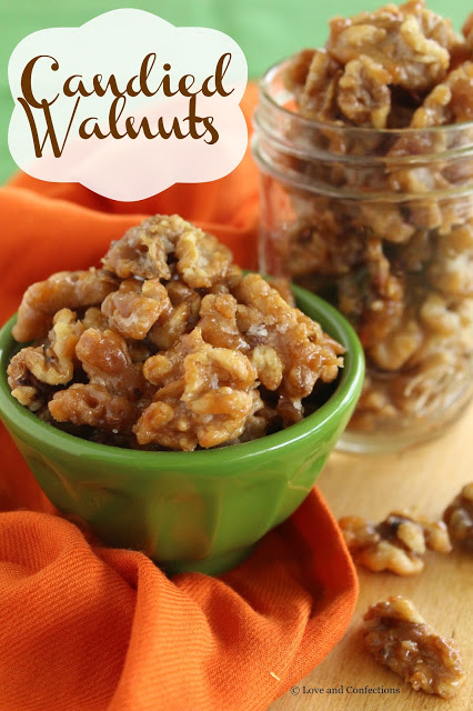 Candied Walnuts from LoveandConfections.com