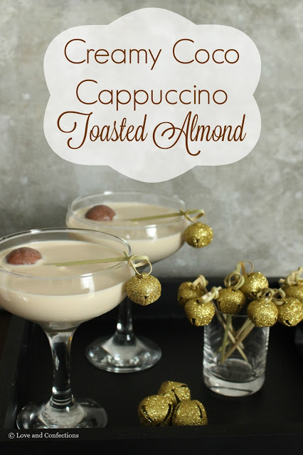 Creamy Coco Cappuccino Toasted Almond from LoveandConfections.com