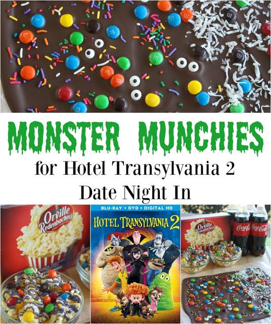Monster Munchies for Hotel Transylvania 2 Date Night In #MakeItAMovieNight