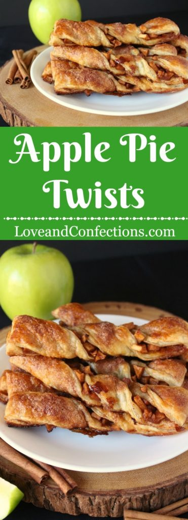 Apple Pie Twists from LoveandConfections.com