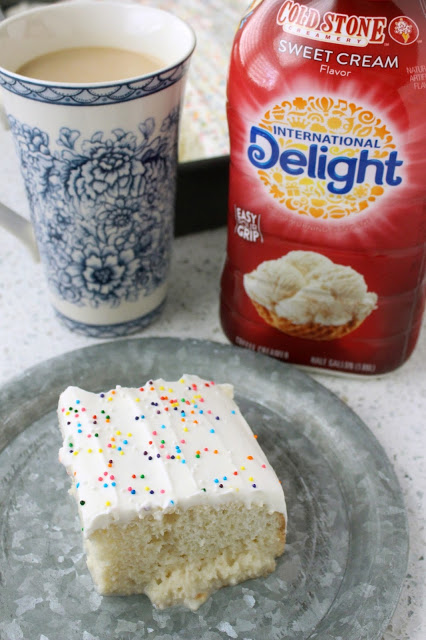 Sweet Cream Tres Leches from LoveandConfections.com #SplashofDelight