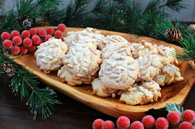 Pignoli Cookies from LoveandConfections.com