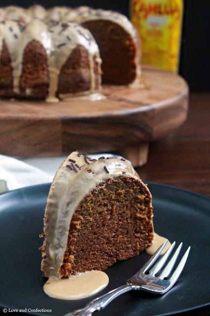 Kahlua Bundt Cake from LoveandConfections.com