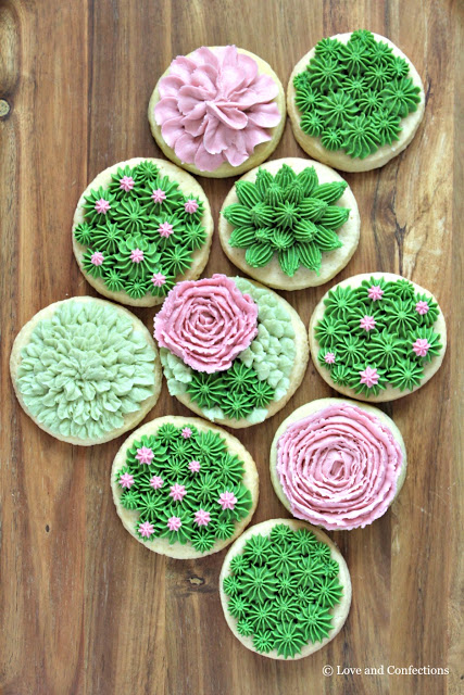 Succulent Vanilla Sugar Cookies from LoveandConfections.com #BrunchWeek