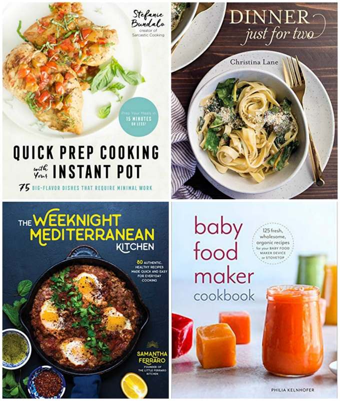 Cookbook set for BrunchWeek giveaway