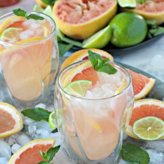 Grapefruit Lime Spritzers