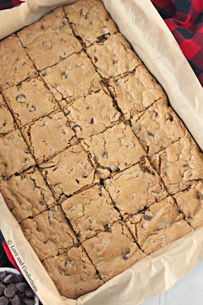 Chocolate Pecan Congo Squares