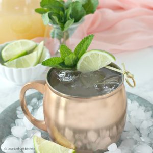 Guava Moscow Mule for #BrunchWeek from LoveandConfections.com #ad