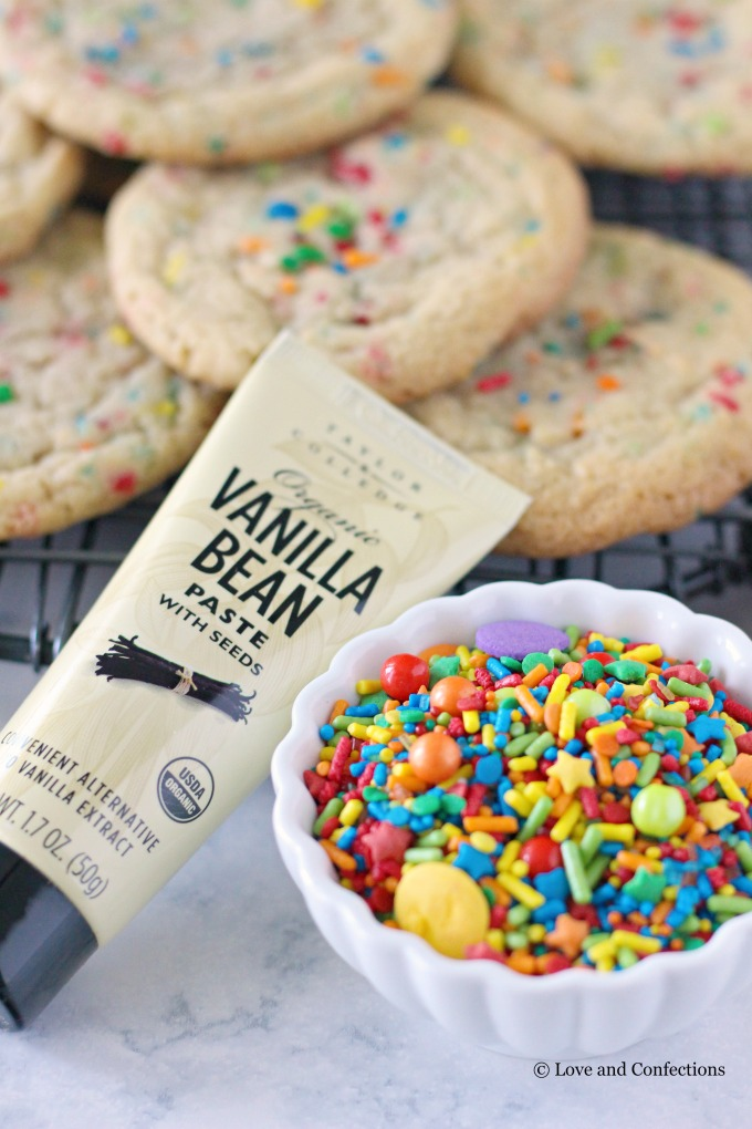 Back-to-School Sprinkle Sugar Cookies