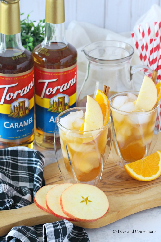 Caramel Apple Cider Punch