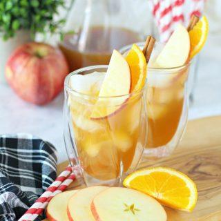 Caramel Apple Cider Punch
