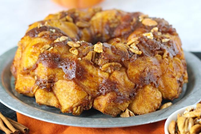 Pumpkin Pecan Monkey Bread