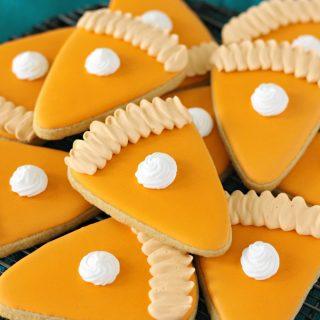 Pumpkin Pie Cut-Out Cookie