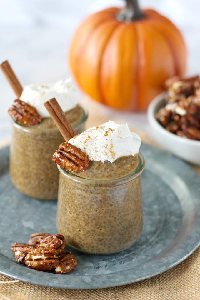 Pumpkin Spice Latte Chia Pudding