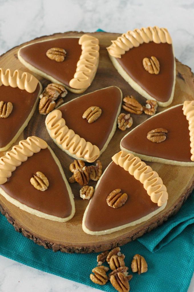 Pecan Pie Cut-Out Cookies