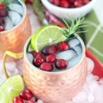 White Cranberry Moscow Mule