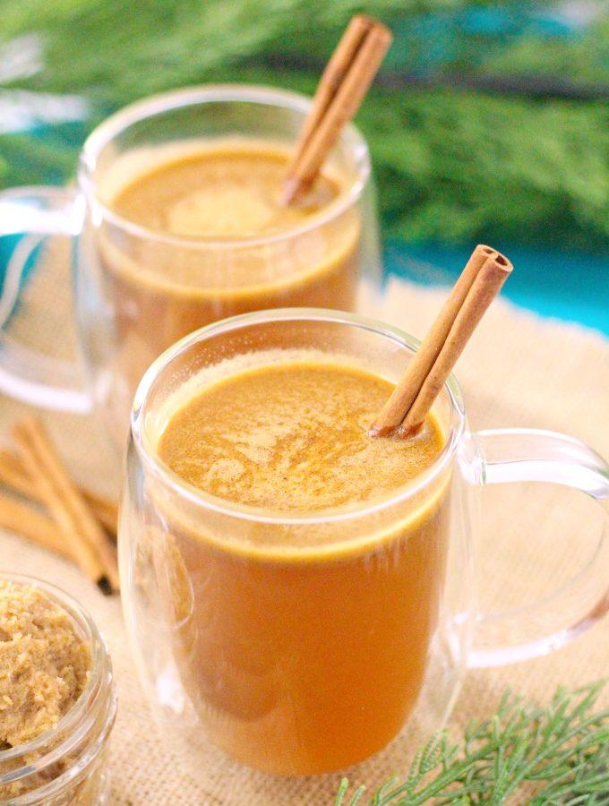 Hot Cider Buttered Rum