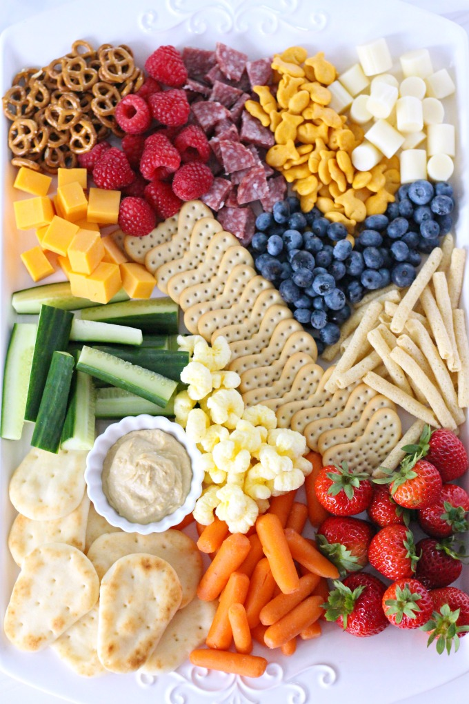 Kid-Friendly Snack Board