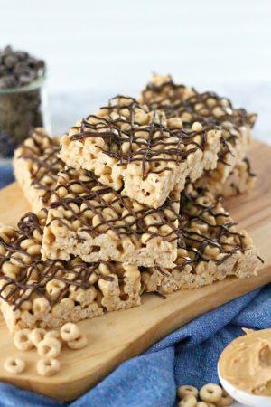 Cheerios Peanut Butter Treats