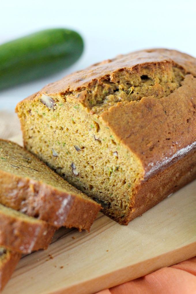 pumpkin pecan zucchini bread