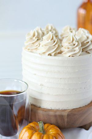 Pumpkin Spice Latte Layer Cake