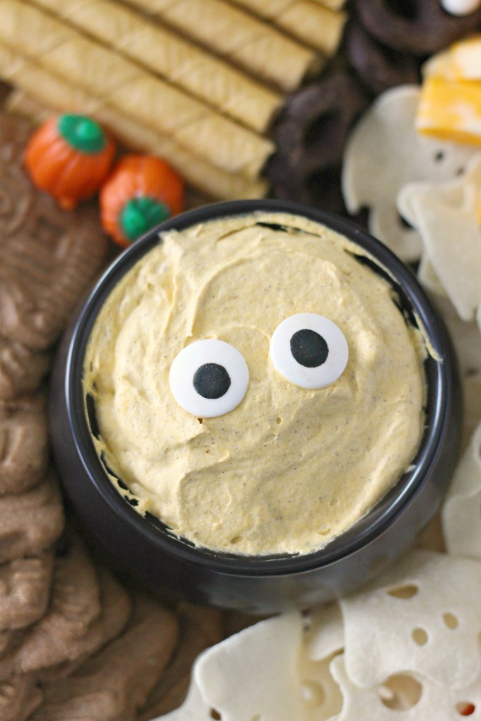 Easy Pumpkin Pudding Dip
