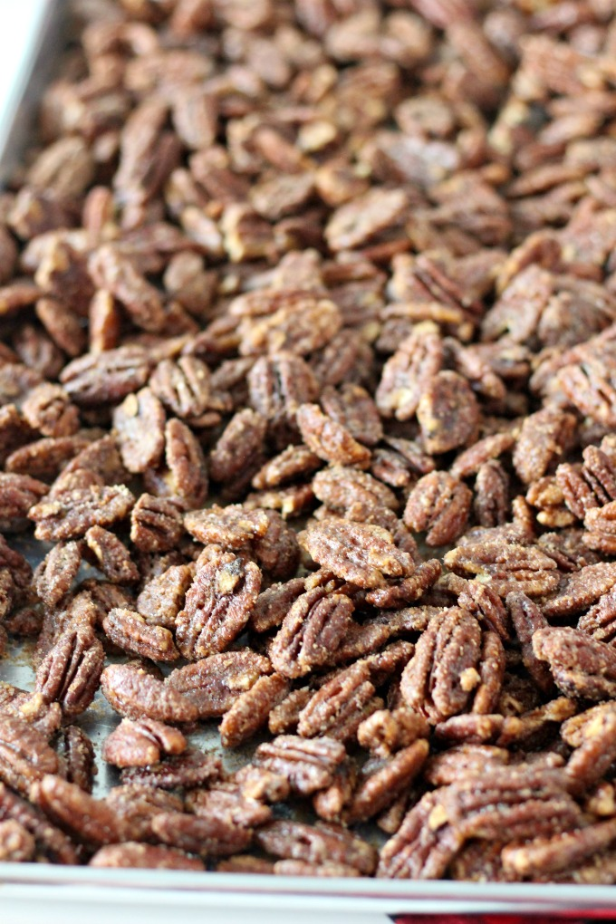 Spiced Sugared Pecans