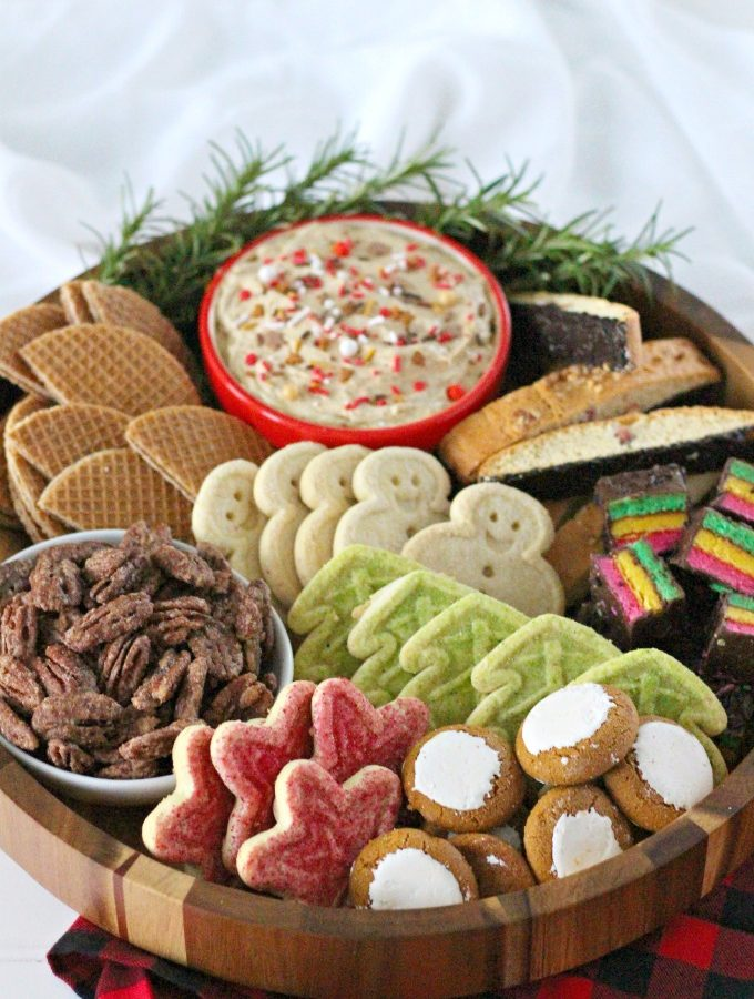 Christmas Sweet Snack Board