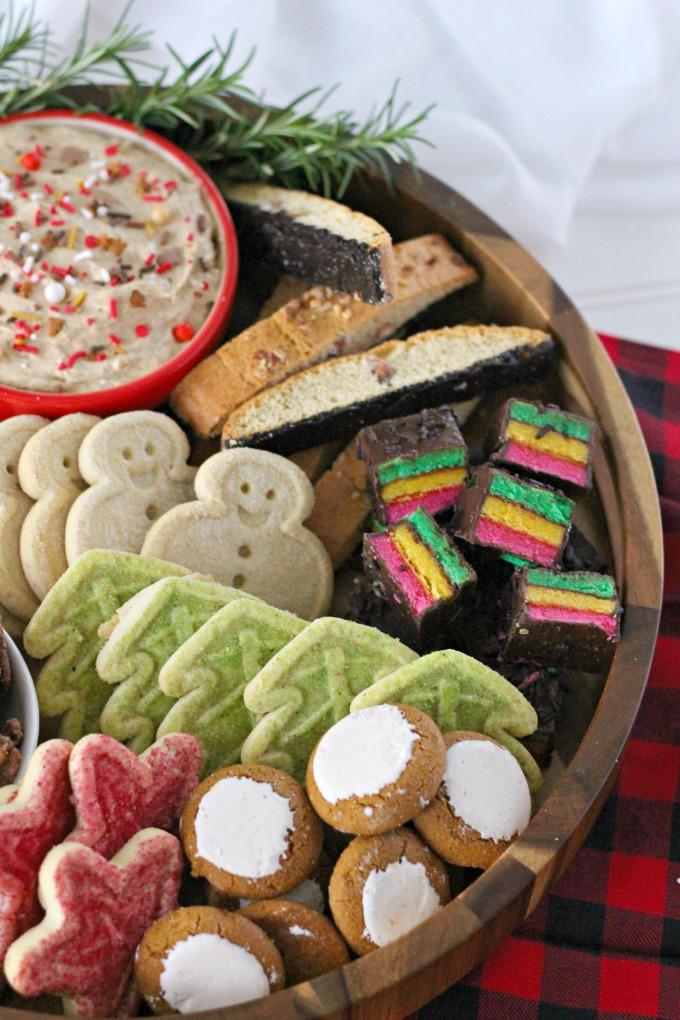 Christmas Sweet Snack Board